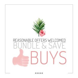 Other - Reasonable Offers Welcomed - 15% off on Bundles